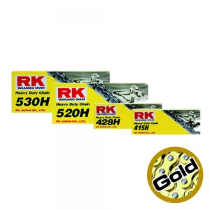 CHAIN RK 428HSB X 134 GOLD