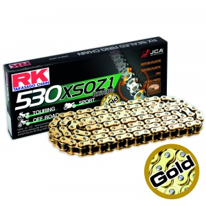 CHAIN RK 530XSO-114 GOLD