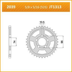 2039-40 SPROCKET REAR(J)(1313)