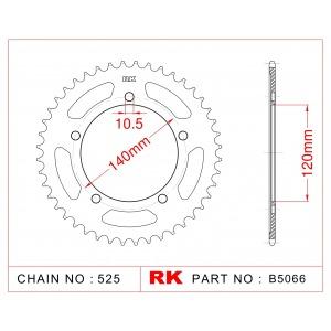 2061-47 SPROCKET REAR(J)(1792) 14604