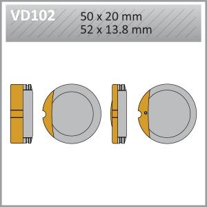 VES PADS S-MET VD102 (FA13)