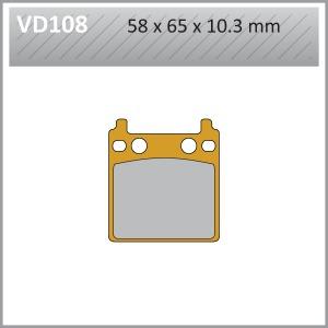 VES PADS S.MET VD108  FA32 END OF LINE