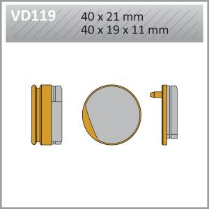 BRAKE PADS S.MET VD119 FA52