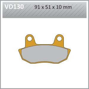 VES PADS S.MET VD130 FA90