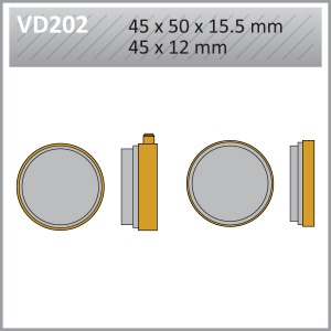 VES PADS S-MET-VD202 (FA28)