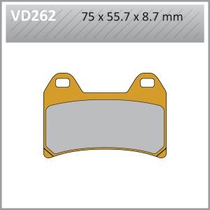 VES PADS S.MET  VD262/2