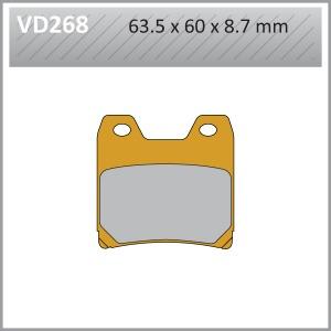 VES PADS  S.MET-VD268 (FA348)