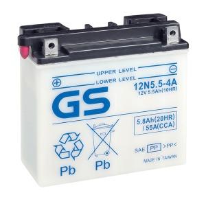 GS Battery 12N554A