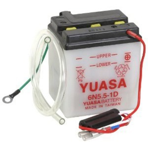 YUASA BATTERY 6N551D DC  (CASE 10)