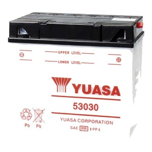YUASA Battery 53030 CP Acid pack  (CASE 2)