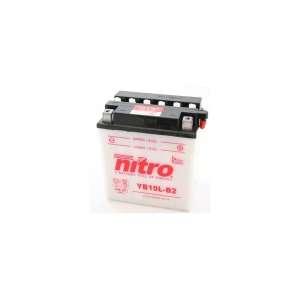 NITRO BATTERY YB10L-B2 open with acid pack (CB10LB2) (CASE 4)