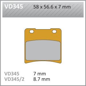 VES PADS S.MET  - VD345