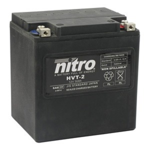 NITRO BATTERY HVT 02(YIX30L) AGM SEALED Harley OE 66010-97 12V (CASE 2)