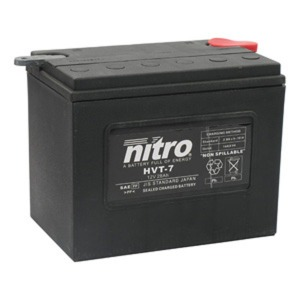 NITRO BATTERY HVT 07(YHD12) AGM SEALED Harley OE 66007-84 12V (CASE 2)