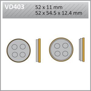 VES PADS S.MET - VD403  END OF LINE