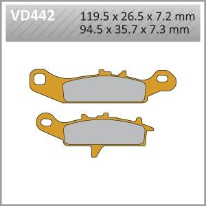 VES PADS S.MET - VD442