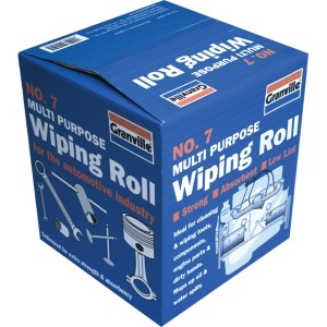 GRANVILLE No:7 3PLY EMBOSSED WIPING ROLL 1 PER BOX 140M