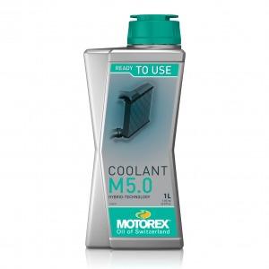 MOTOREX GREEN COOLANT PRE MIX HYBRID M5.0 1 LT