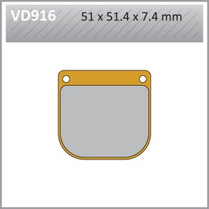 VES PADS S.MET - VD916  END OF LINE