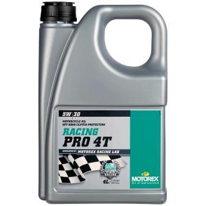 MOTOREX RACING PRO 4T 5/30 4LIT Semi Synthetic