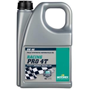 MOTOREX RACING PRO 4T 0/40 4 LT