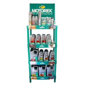 MOTOREX GREEN DISPLAY STAND (FREE ON LOAN) PLASTIC