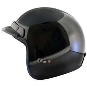 HELMET JET  BLACK  XS-54