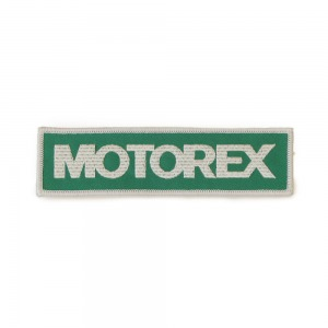 BADGES MOTOREX 40X150mm