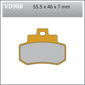 VES PAD S.MET-VD988 (FA356)