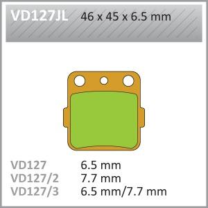 VES PADS SINT VD127/3JL FA84/2 END OF LINE