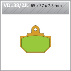 VES PADS SINT VD138/2JL  END OF LINE