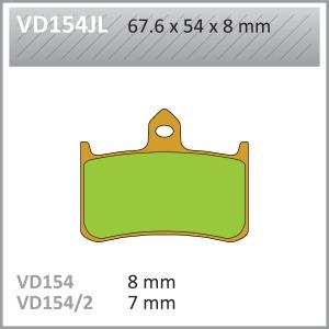 VES PADS SINT VD154/2JL