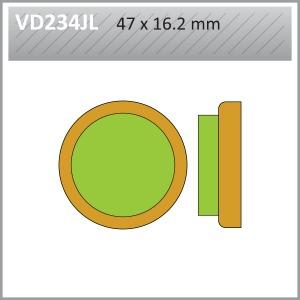 VES PADS SINT VD234JL (FA21)