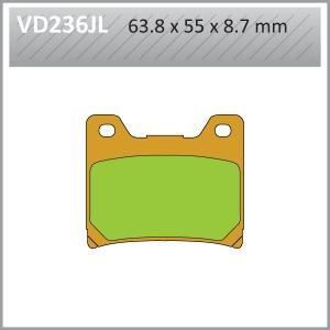 VES PADS-SIN VD236JL (FA88)