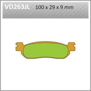 VES PADS-SIN- VD263JL
