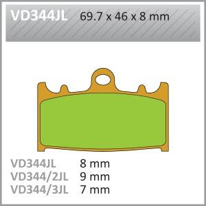VES PADS-SIN VD344JL (FA158)