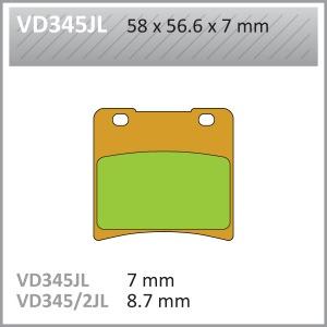 VES PADS-SIN- VD345JL