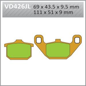 VES PADS-SIN VD426JL (FA85)