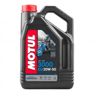 MOTUL 3000 20W50 X 4 LITRE